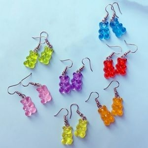 Faux Gummy Bear Earrings